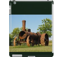 Antique Tractor - A Rusty Relic on a Farm iPad Case/Skin