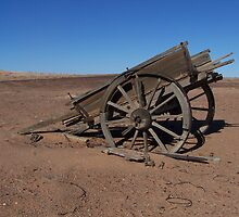 Old Wagon, South Australia   by Lisa Evans