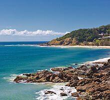 Wategos beach, Byron Bay by bidkev1