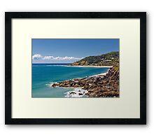 Wategos beach, Byron Bay Framed Print