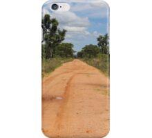 Red Earth in Zambia iPhone Case/Skin