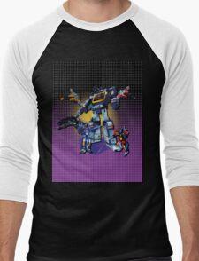 Masterpiece Soundwave and Cassettes Men's Baseball ¾ T-Shirt