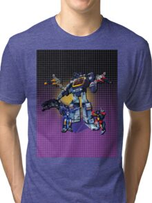Masterpiece Soundwave and Cassettes Tri-blend T-Shirt