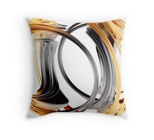 Inverted Handcuffs Throw Pillow