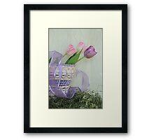Spring Rewards Framed Print