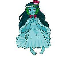 Water Princess - Adventure Time Photographic Print