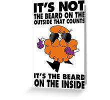 Dexter's beard Greeting Card