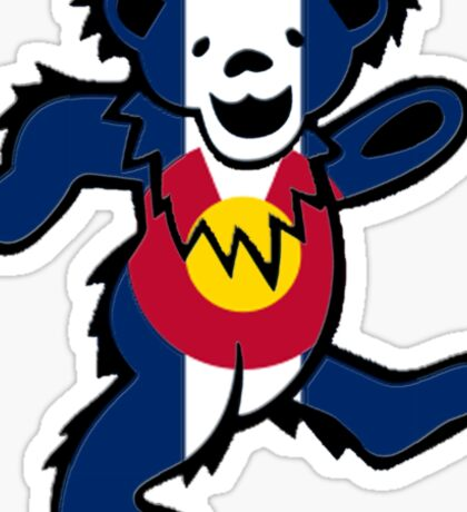 Colorado Bear Sticker