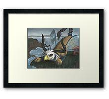 Scroobius Pip Framed Print