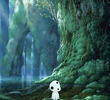 Princess Mononoke Forest Spirit by AMPEE