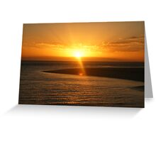 Monkey Mia Sunrise Greeting Card