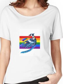 Blue Gay Women's Relaxed Fit T-Shirt