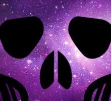 Galaxy Skull Sticker