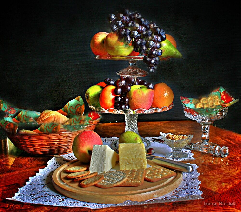 Still Life  {fruit } by Irene  Burdell