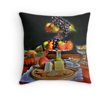 Still Life  {fruit } Throw Pillow