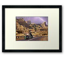 Zabber Dast Pakistani Hyper Drive Cycle V-400 Framed Print