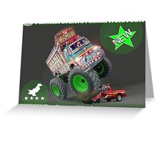 Pakistan's Newest Line-up of Rugged Hand Crafted Utility Vehicles Greeting Card
