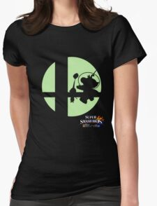 Super Smash Bros - Olimar and Pikmin Womens Fitted T-Shirt