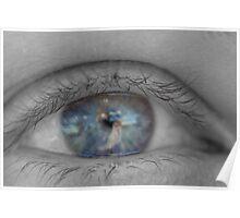 Selective Eye Poster