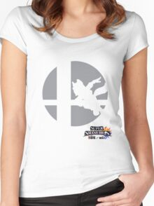 Super Smash Bros - Fox Women's Fitted Scoop T-Shirt