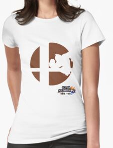 Super Smash Bros - Donkey Kong Womens Fitted T-Shirt