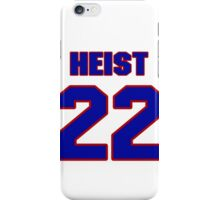 National baseball player Al Heist jersey 22 iPhone Case/Skin