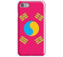Neon Nations SOUTH KOREA iPhone Case/Skin