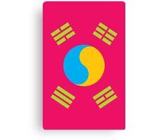 Neon Nations SOUTH KOREA Canvas Print