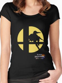 Super Smash Bros - Link Women's Fitted Scoop T-Shirt