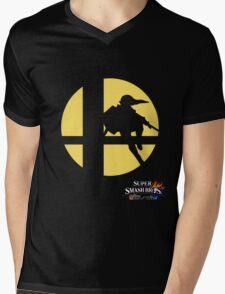 Super Smash Bros - Link Mens V-Neck T-Shirt