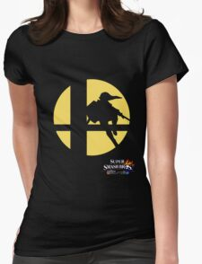 Super Smash Bros - Link Womens Fitted T-Shirt