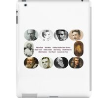 Top Ten Scientists of our time iPad Case/Skin