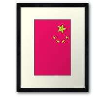 Neon Nations CHINA Framed Print