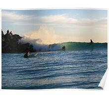 City Beach Barrels of fun Poster