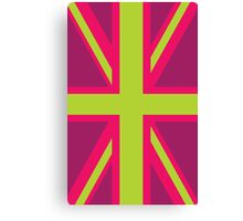 Neon Nations UK Canvas Print