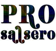 Pro Salsero Spectrum Photographic Print