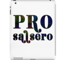Pro Salsero Spectrum iPad Case/Skin