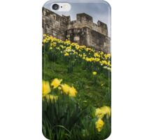 Outside York's City Walls iPhone Case/Skin