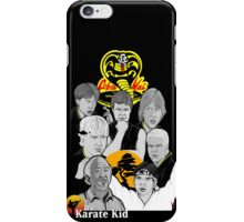 Karate Kid 30th Anniversary Tribute iPhone Case/Skin