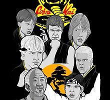 Karate Kid 30th Anniversary Tribute by gjnilespop