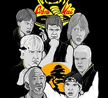 Karate Kid 30th Anniversary Tribute by gjnilespop