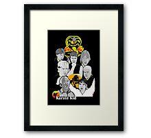 Karate Kid 30th Anniversary Tribute Framed Print