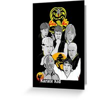 Karate Kid 30th Anniversary Tribute Greeting Card
