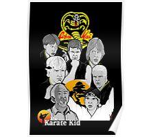 Karate Kid 30th Anniversary Tribute Poster
