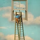 WINDOW CLEANER IN THE SKY 02 by vinpez
