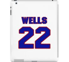 National baseball player Casper Wells jersey 22 iPad Case/Skin