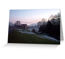 Hutton -le- hole,  in the North Yorks Moors Greeting Card