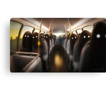 Commuters Canvas Print