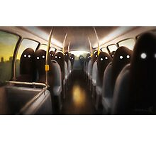 Commuters Photographic Print