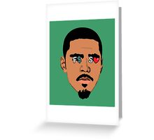 J. Cole F.$.S.L Greeting Card